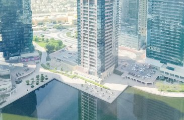 One Bedroom, Two Bathroom, Duplex To Rent in Jumeirah Bay, Jumeirah Lakes Towers - JLT, Dubai - Near to Metro | Amazing 1 bed Duplex