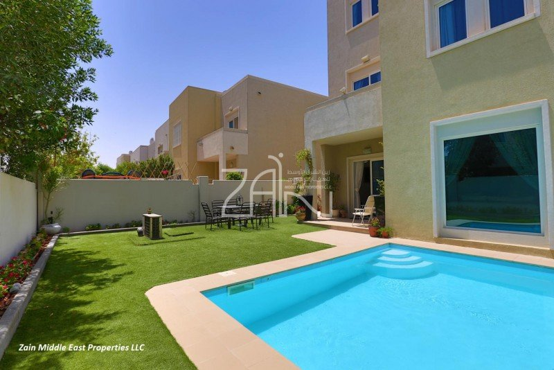 Zme R 15664 Five Bedroom Six Bathroom Villa To Rent In Desert Village Al Reef Abu Dhabi