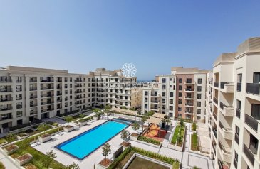 One Bedroom, One Bathroom, Apartment To Rent in Al Khan, Sharjah - Exclusive! Brand New 1BR | Kitchen Appliances