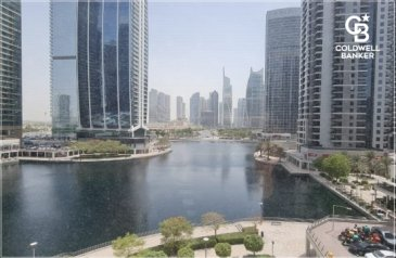 1,345 Sq Ft, Office For Sale in One Lake Plaza, Jumeirah Lakes Towers - JLT, Dubai - Fully Fitted Office   Walking Distance to Metro