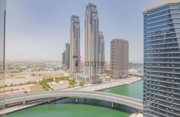 938 Sq Ft, Office To Rent in Al Manara Tower, Business Bay, Dubai - Best Price in Market | High Floor | Fitted Office