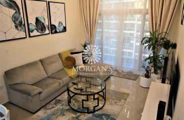 One Bedroom, Two Bathroom, Apartment For Sale in Uniestate Sports Tower, Dubai Sports City (DSC), Dubai - Furnished & upgraded 1 Bedroom for sale