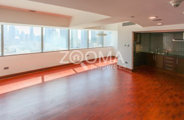 Two Bedroom, Three Bathroom, Apartment To Rent in Jumeirah Living - World Trade Center Residence, Trade Center, Dubai - 2 bedroom duplex| Maids Room| City View