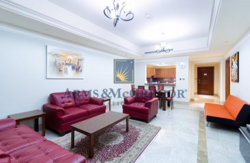 One Bedroom, Two Bathroom, Apartment For Sale in Fairmont Residence South, The Palm Jumeirah, Dubai - 1BR   Extended balcony   High floor