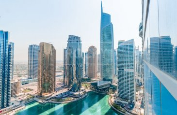 1,046 Sq Ft, Office To Rent in Lake Al Mas East, Jumeirah Lakes Towers - JLT, Dubai - Exclusive   Fitted Office   Lake View   DMCC