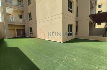 Two Bedroom, Two Bathroom, Apartment To Rent in Al Ghaf 4, The Greens, Dubai - CHILLER FREE F. FURNISHED 2BHK WITH STUDY FOR RENT