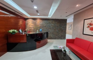 2,030 Sq Ft, Office To Rent in Crystal Tower, Business Bay, Dubai - Fully Fitted|Furnished|4 parking|Immediate Start