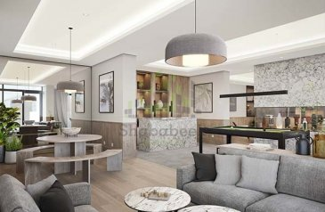 One Bedroom, Two Bathroom, Apartment For Sale in Jumeirah Village Circle (JVC), Dubai - 50/50 Payment Plan,1BR Belgravia Square