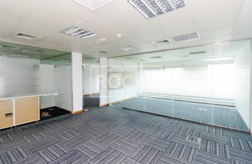 1,192 Sq Ft, Office To Rent in Dubai Media City (DMC), Dubai - Road View | Fitted | Low Commission Fee