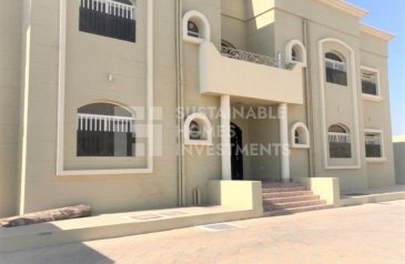 Three Bedroom, Three Bathroom, Apartment To Rent in Shakhbout City, Abu Dhabi - Very Spacious 3BR Plus Big Majlis With Separate Entrance