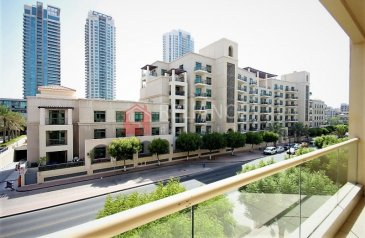 Two Bedroom, Two Bathroom, Apartment To Rent in Al Dhafrah 1, The Greens, Dubai - Vacant Sep | 2 Bedrooms | Community View | AC Free