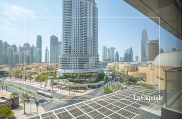One Bedroom, Two Bathroom, Apartment For Sale in Boulevard Point, Downtown Dubai, Dubai - Vacant | Brand New | Multiple Options Available
