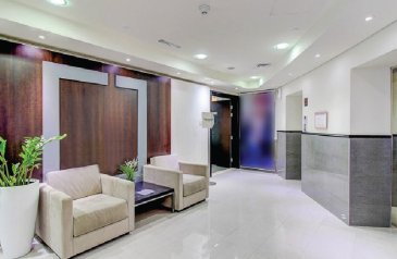 250 Sq Ft, Office To Rent in Wimbledon Tower, Dubai Sports City (DSC), Dubai - Fitted | Furnished | Business Center | Sports City
