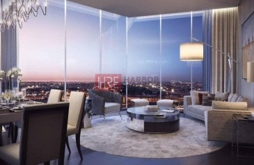 Studio, One Bathroom, Apartment For Sale in Aykon City Towers, Sheikh Zayed Road (SZR), Dubai - Exclusive | High Floor | Sea View J3 | Furnished