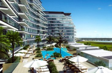 One Bedroom, Two Bathroom, Apartment For Sale in Mayan, Yas Island, Abu Dhabi - Lovely Unit with Mesmerizing Waterfront Views