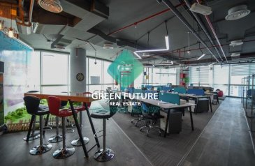 1,951 Sq Ft, Office To Rent in Smart Heights, Barsha Heights (TECOM), Dubai - Amazingly Furnished Office|Ready To Move In
