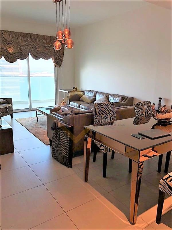 Furnished 2 Br Apt With Balcony For Sale