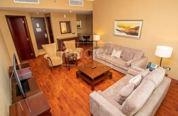One Bedroom, Two Bathroom, Hotel Apartment To Rent in Barsha Heights (TECOM), Dubai - 5 Star living | No Commission | Fully Furnished | 1-Bed