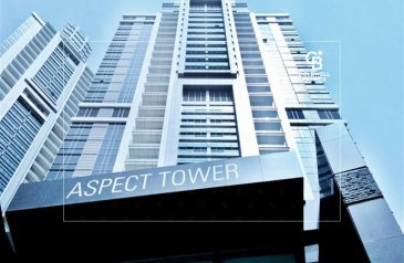 3,883 Sq Ft, Office To Rent in Aspect Tower, Business Bay, Dubai - Near Metro Fitted Office High floor with partition