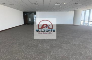 1,650 Sq Ft, Office To Rent in U Bora Tower 1, Business Bay, Dubai - Fully fitted high floor full floor for rent in business bay