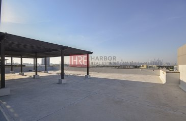 1,200 Sq Ft, Office To Rent in Dubai Production City - IMPZ, Dubai - Full Roof Floor| Ideal for Cafe | 2-Months Free