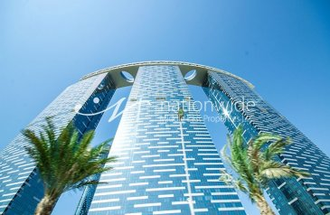 One Bedroom, One Bathroom, Apartment To Rent in The Gate Tower 2, Al Reem Island, Abu Dhabi - Vacant Now! A One of a kind Home w/ Facilities