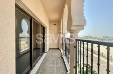 One Bedroom, Two Bathroom, Apartment To Rent in Al Andalus, Jumeirah Golf Estates, Dubai - Tower B   Ready to Move in   Low Floor   Balcony
