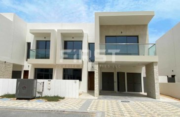 Three Bedroom, Four Bathroom, Duplex To Rent in The Cedars, Yas Island, Abu Dhabi - With Study and Maid's Room   Prime Area.