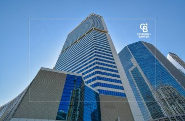 1,251 Sq Ft, Office To Rent in Burlington, Business Bay, Dubai - Amazing  Semi-Fitted Office for Rent   Burlington Tower