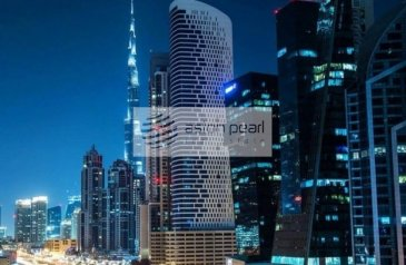 Ready to Move in Good Condition, 6,653 Sq Ft, Retail Space To Rent in The Bay Gate, Business Bay, Dubai - Fitted Retail Space in Grade A Tower Business Bay