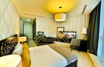 Studio, One Bathroom, Apartment To Rent in Zakher Time Residence, Al Najda Street, Abu Dhabi - Luxurious Fully Furnished Apt | Utilities Included