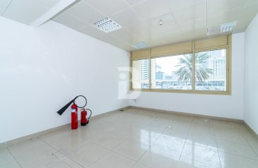 1,000 Sq Ft, Office To Rent in Al Rostamani Towers, Sheikh Zayed Road (SZR), Dubai - Chiller Free   No DEWA   2 Months Free Rent