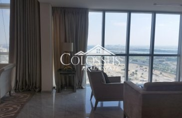 Three Bedroom, Four Bathroom, Penthouse To Rent in Zayed Sports City, Abu Dhabi - Stylish Grand 3-MBR Penthouse with Flexible Payments
