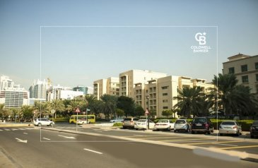 One Bedroom, Two Bathroom, Apartment To Rent in Al Ghozlan 4, The Greens, Dubai - Well maintained 1BR in Greens for rent