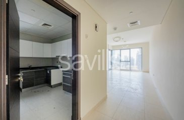 One Bedroom, Two Bathroom, Apartment For Sale in Bahwan Tower, Downtown Dubai, Dubai - Exclusive Listing | Large 1 Bed | BUA 1056 sqft