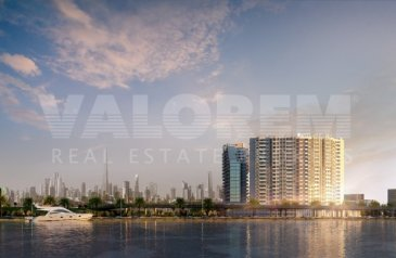 One Bedroom, Two Bathroom, Apartment For Sale in Port Rashid, Dubai - Private Beach Access | Affordable Prices