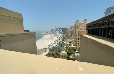 Four Bedroom, Five Bathroom, Duplex To Rent in Fairmont Residence North, The Palm Jumeirah, Dubai - Full Sea View / Duplex / Unfurnished 4BR