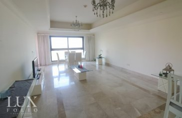 One Bedroom, Two Bathroom, Apartment To Rent in Fairmont Residence South, The Palm Jumeirah, Dubai - Vacant| Burj Al Arab Views|Part furnished