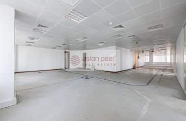 8,012 Sq Ft, Office To Rent in Al Moosa Tower 2, Sheikh Zayed Road (SZR), Dubai - Vacant Office  Partitioned   Next to Metro Station