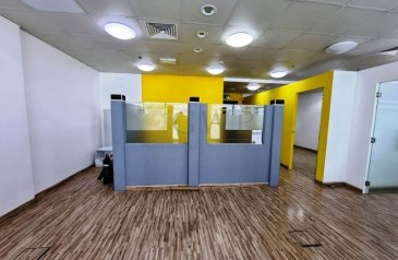 990 Sq Ft, Office To Rent in The Regal Tower, Business Bay, Dubai - Bright  Partitioned Well maintained With Parking