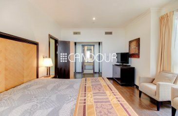 One Bedroom, Two Bathroom, Penthouse To Rent in JBR - Murjan Towers, Jumeirah Beach Residence - JBR, Dubai - Palm & Marina View | 1 Bedroom | Furnished