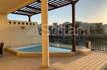 Two Bedroom, Two Bathroom, Villa To Rent in The Cove, Ras Al Khaimah Waterfront, Ras al Khaimah - Luxury Cove 2 Bed Sea VIew Private Pool