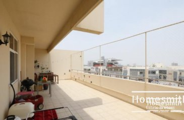 Two Bedroom, Three Bathroom, Apartment For Sale in Fox Hill 1, Uptown Motor City (UMC), Dubai - Vacant on Transfer I Upgraded I Huge Terrace I Spacious