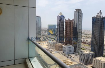 One Bedroom, Two Bathroom, Apartment To Rent in Executive Towers - C, Business Bay, Dubai - 1BEDROOM with Burj Khalifa View.