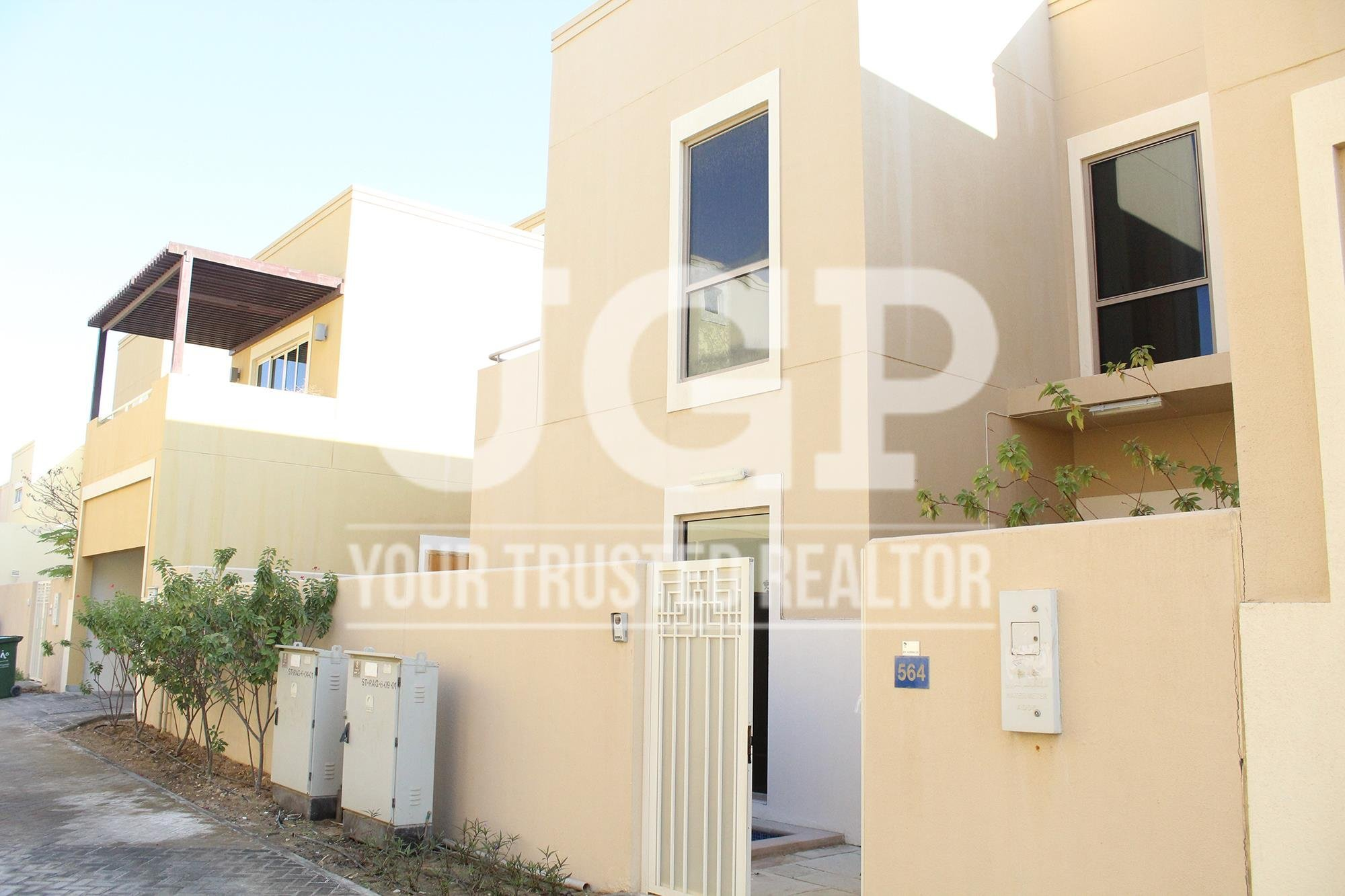 71 th30665 three bedroom townhouse to rent in al raha for 3 bedroom townhouse for rent