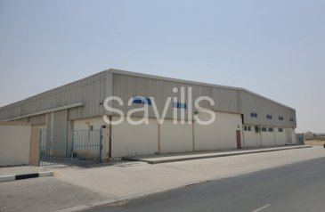 Existing, 52,744 Sq Ft Warehouse For Sale in Al Sajaa, Sharjah - Warehouse & Labor Accommodation in New Sajaa