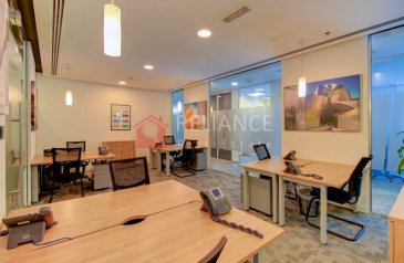 230 Sq Ft, Office To Rent in Downtown Dubai, Dubai - NO COMMISSION | SERVICED OFFICE |METRO NEARBY