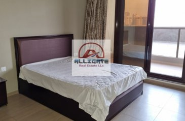 One Bedroom, Two Bathroom, Apartment To Rent in Elite Sports Residence 8, Dubai Sports City (DSC), Dubai - HUGE TERRACE / 1 BEDROOM / FULLY FURNISHED