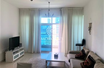 Two Bedroom, Four Bathroom, Apartment For Sale in Continental Tower, Dubai Marina, Dubai - Furnished 2BR+Maid's | Full Marina View