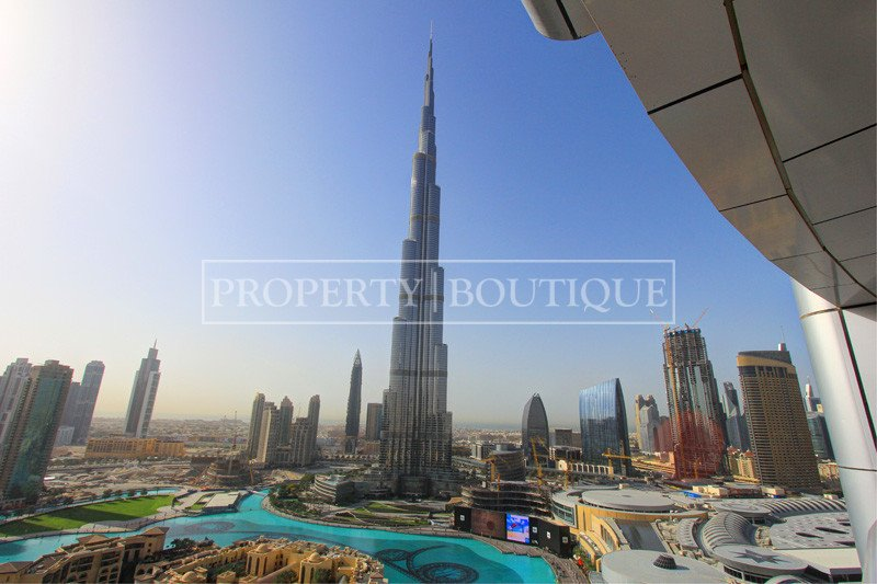 Full Burj And Fountain View  1bed  Mid Floor
